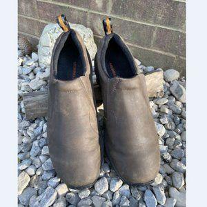Merrell Men Jungle Moc Leather Slip On Shoes 13